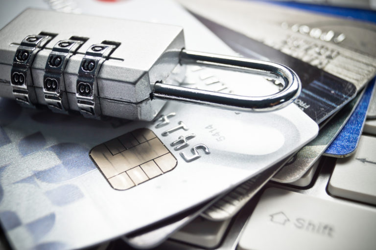 Credit Card Security Secure Transactions Coded Lock